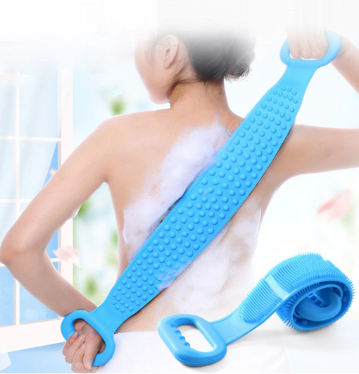 Body Massage Silicone Brush - The Hummingbird Effect