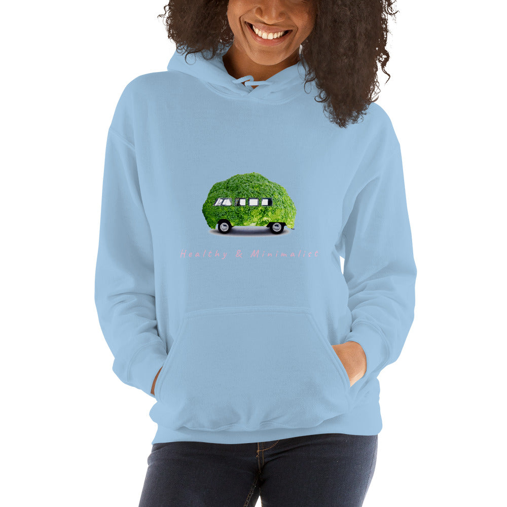 """Broccoli Van"" Customizable Unisex Hoodie - The Hummingbird Effect"
