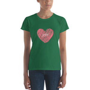 """Heart"" Customizable Women T-shirt - The Hummingbird Effect"
