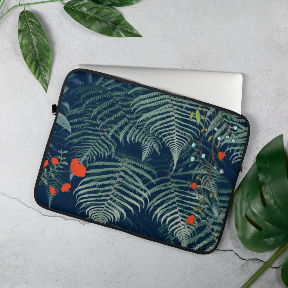 Jungle Fun Laptop Sleeve - The Hummingbird Effect