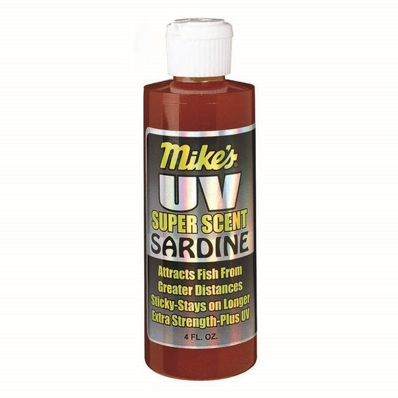 Atlas Mike's UV Super Scent Enhanced Fish Attractants 4 oz Flip Top Bottle