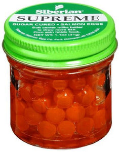Atlas Mike's Siberian Supreme Fluorescent Red Salmon Eggs
