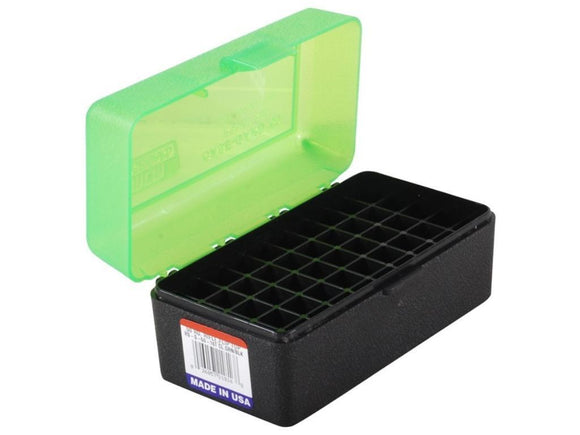 MTM Case-Gard Rifle Ammunition Box RS-50 Green/Black
