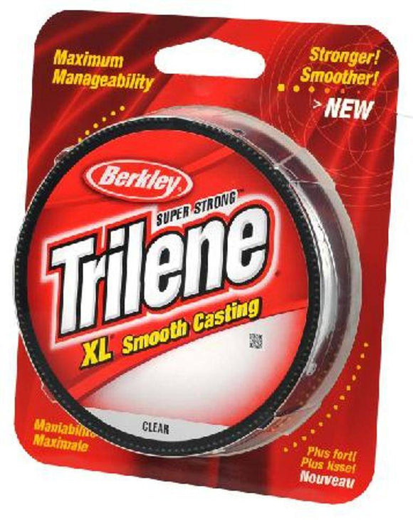 Berkley Trilene XL Fishing Line 110 Yards Clear 2 4 6 8 10 12 14 Lb Test Choice
