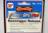 "Scotty #1172  Power Grip Plus Stacker Downrigger Release 30"" Leader Trolling Snap"