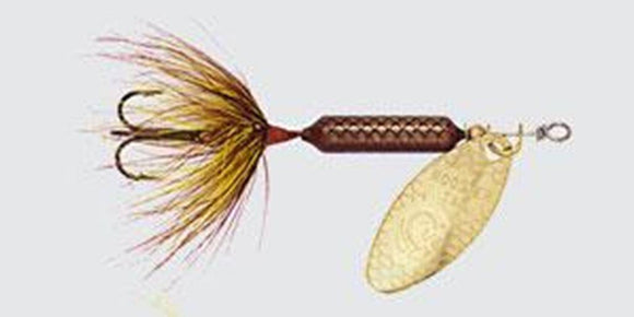 Worden's Yakima Bait Original Rooster Tail Grasshopper