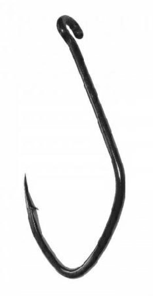 Gamakatsu Big River Siwash Hooks Nickel Silver Black