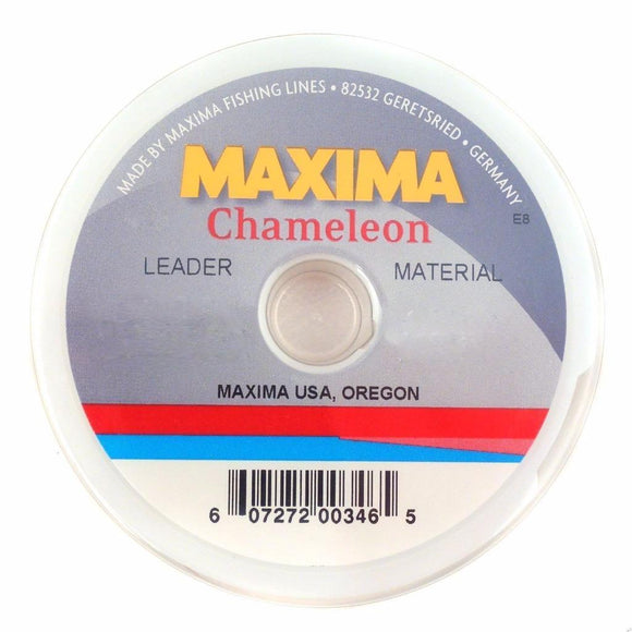 Maxima Leader Wheel Test Fishing Line Chameleon Choice: 10, 12, 15 or 20 Lb