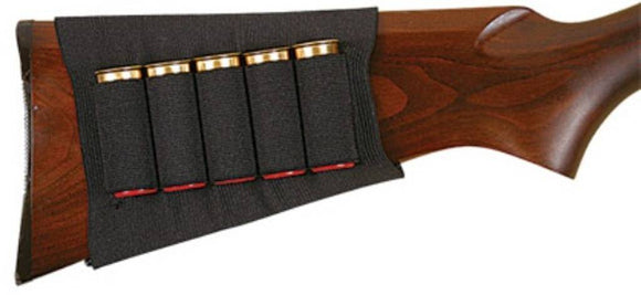 Allen Black Shotgun Buttstock Holder Elastic Loops