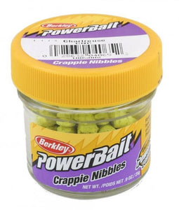 Berkley Powerbait Crappie Nibbles Fishing Bait Choice of Colors