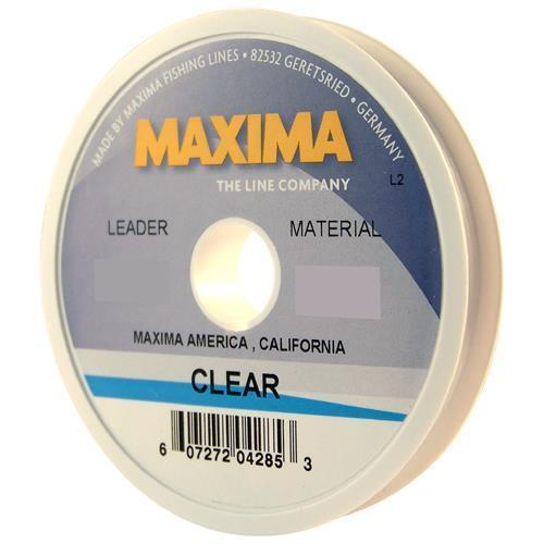 Maxima Leader Wheel Fishing Line Clear Choice: 2, 3, 4, 5, 6 or 8 Lb