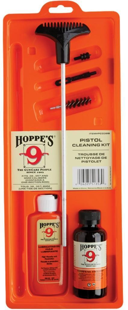 Hoppes Gun Cleaning Kit Clamshell Case PCO38B