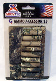 Grovtec Buttstock Rifle Cartridge Shell Holder True Timber Camouflage GTAC-76