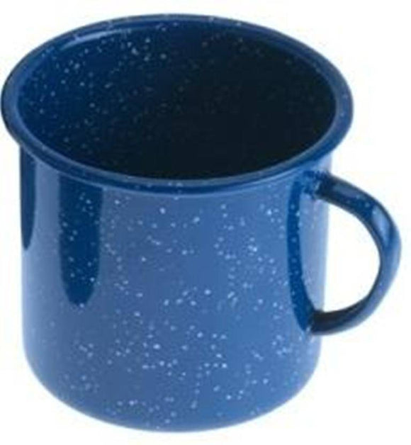 GSI Outdoor Blue Enamelware 12oz Coffee Cup Mug