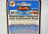 Scotty Mini Power Grips Plus Downrigger Release With Cannonball Snap 1181