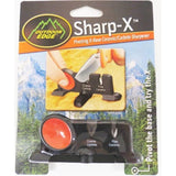 Outdoor Edge Sharp-X Two Stage Knife Sharpener Course Carbide Fine Ceramic