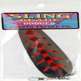 Shasta Tackle #3 Sling Blade Dodger Fishing Lure: Choice of color