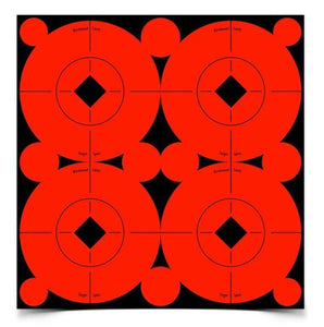 "Birchwood Casey 3"" Self Adhesive Target Spots Bright Red"