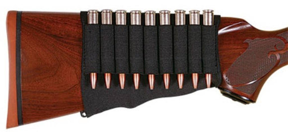 Allen Rifle Cartridge Buttstock Holder Elastic Loops