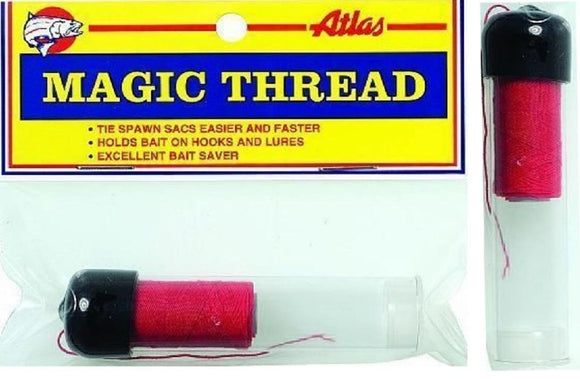 Atlas Mike's Red Magic Thread 100' Feet Roll With Dispenser
