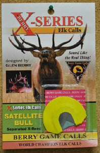 Berry Game Calls X-Series Satellite Bull X-2 Elk Call
