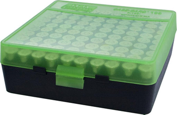 MTM Case-Gard Ammunition Box P-100-3 Green Black
