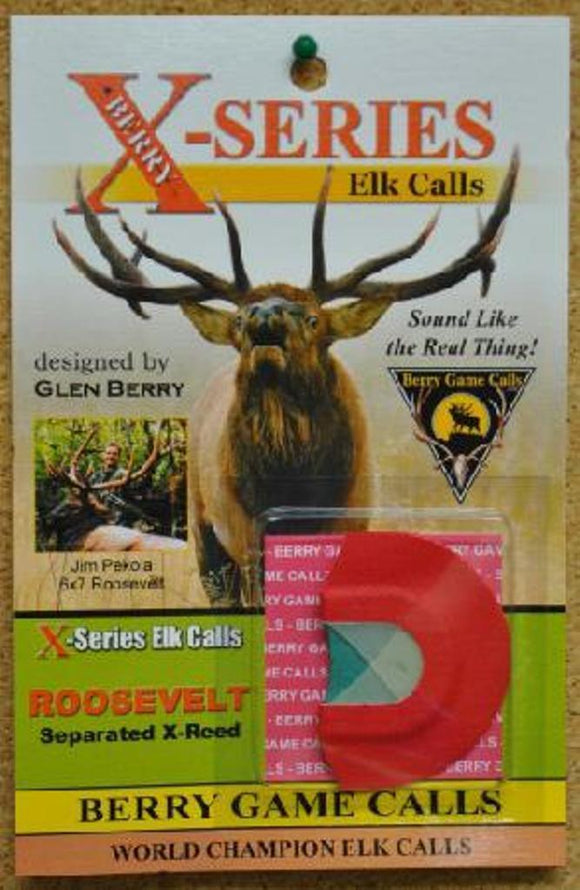 Berry Game Calls X-Series Roosevelt Bull X-4 Elk Call