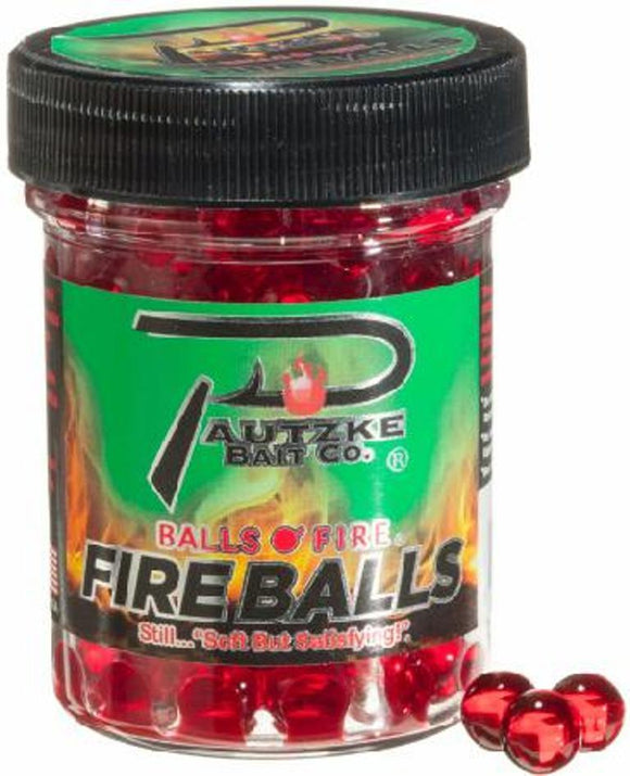 Pautzke Fire Balls Salmon Eggs Jar Choice of Colors