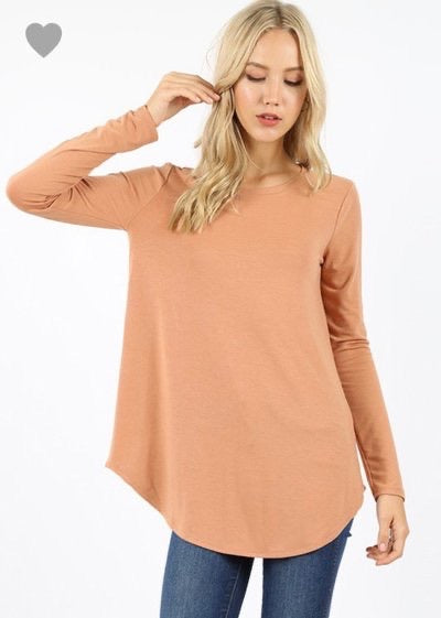 Raylan Basic Long Sleeve Top