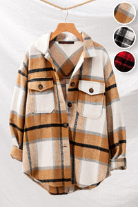 Cozy Up Tan Flannel