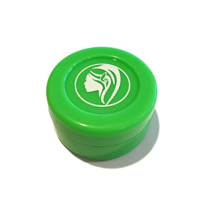 Non-Stick Silicone Wax Jar - Green