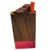 "4"" Swivel Cap Wooden Dugout - Multi-Color / Pink Tie Dye"
