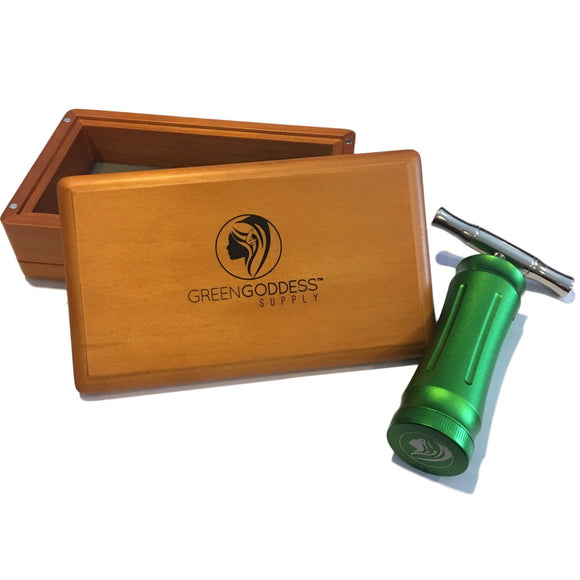 Walnut Sifter Box & Pollen Press (Bundle)