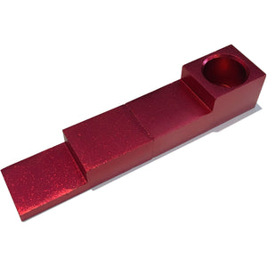 Magnetic 2-Piece Folding Pipe - Red