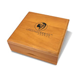 Large Walnut Pollen Sifter Box