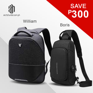 William + Boris Bundle (Black Edition)