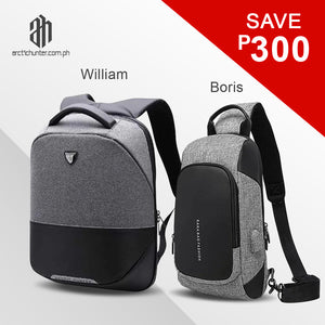 William + Boris Bundle Bag (Grey Edition)