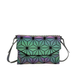 Fiona Geometric Luminous Crossbody Bag