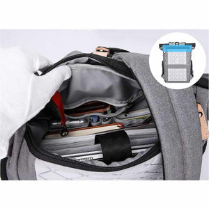 Alfred Laptop Backpack with USB Charging Port