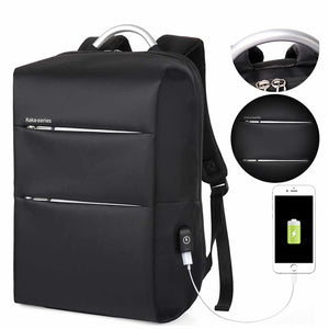 Alexander (Anti-Theft Backpack with USB Charging Port)