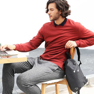 Andrei Crossbody Bag with USB Charging Port