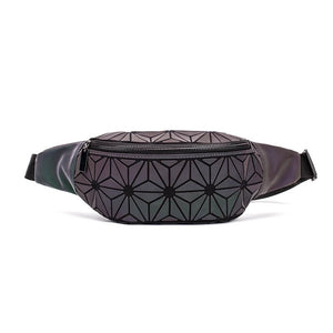 Matilda Geometric Luminous Waist Bag