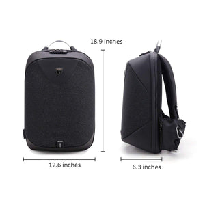 Charles (Anti-Theft Backpack with USB Charging Port)