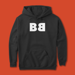 "BLACK BOOK FAM - PULLOVER HOODIE LOGO ""BB"""