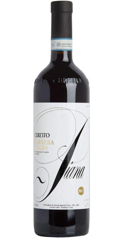 Ceretto Piana Barbera d'Alba DOC 2016, physical, VINI VINO - VINI VINO Singapore