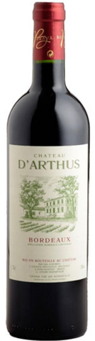 Chateau D'Arthus 2015, physical, VINI VINO - VINI VINO Singapore
