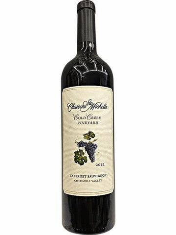 Chateau Ste Michelle Cold Creek Vineyard Cabernet Sauvignon 2013, physical, VINI VINO - VINI VINO Singapore
