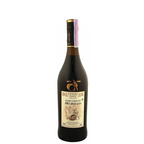 Emilio Lustau Centenary Selection Pedro Ximenez Murillo Sherry NV (500ml) - VINI VINO