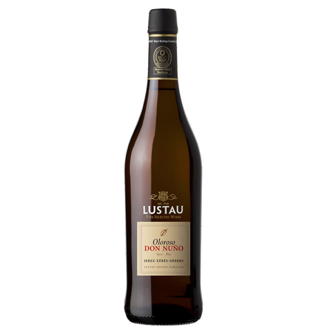 Emilio Lustau Solera Reserva Dry Oloroso Don Nuno Sherry NV (375ml), physical, VINI VINO - VINI VINO Singapore