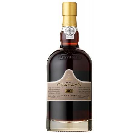 Graham's 40 Year Old Tawny Port NV - VINI VINO